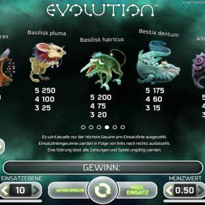 Netent-evolution-gewinne