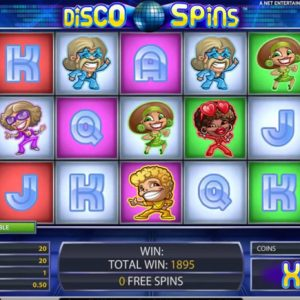 Disco Spins Spielautomat