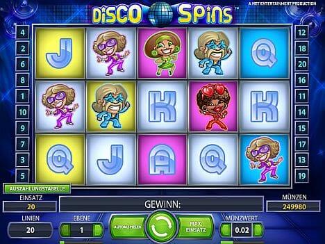 disco spins spielen
