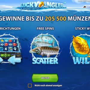 Lucky Angler Funktionen