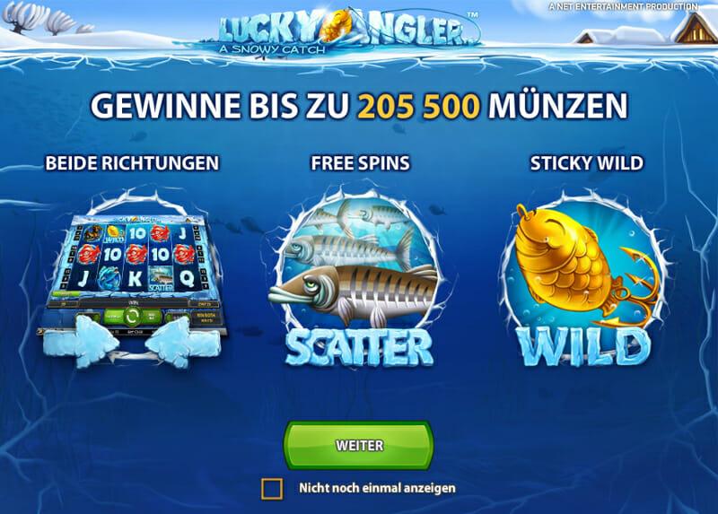 lucky angler spielen