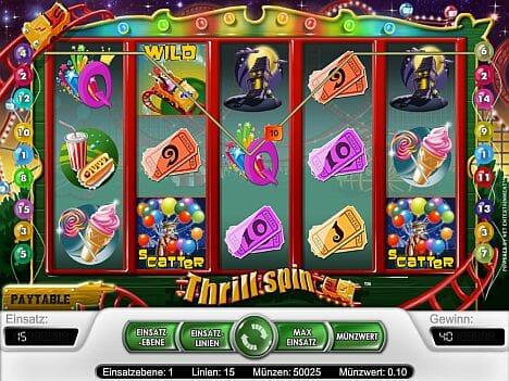Thrill Spin Spielautomat
