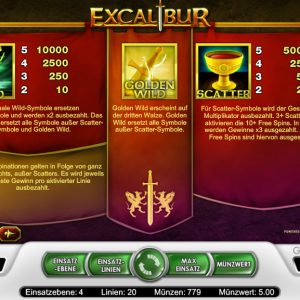 Xcalibur Features