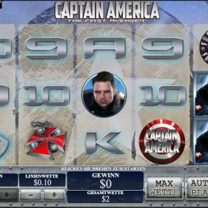 Captain America Vorschau