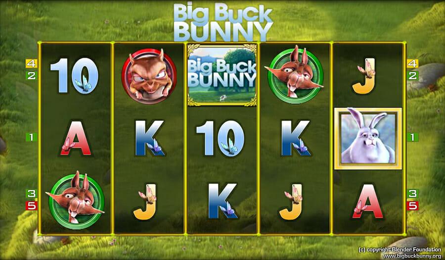 Merkur Big Buck Bunny Spielautomat