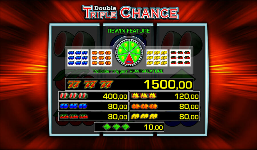 double triple chance spielen