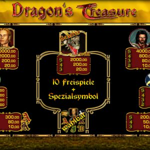 Merkur-dragons-treasure-gewinne
