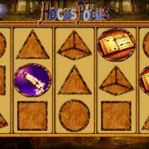 Hocus Pocus Deluxe Spielautomat - Spielen Sie gratis Online