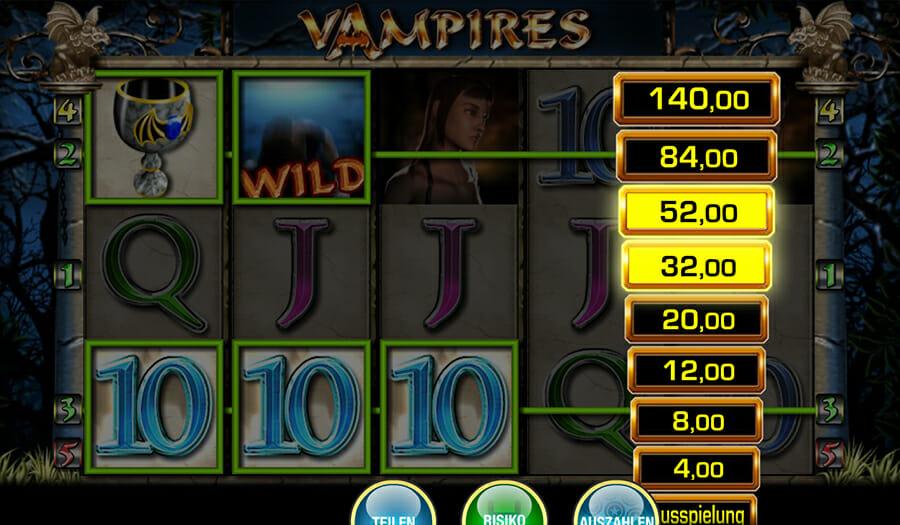 Merkur Vampires Risiko