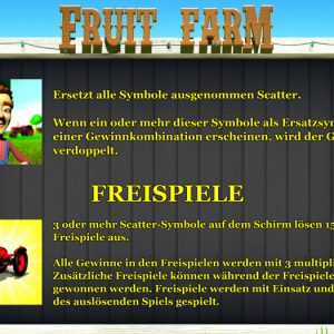 Novoline-fruit-farm-freispiele