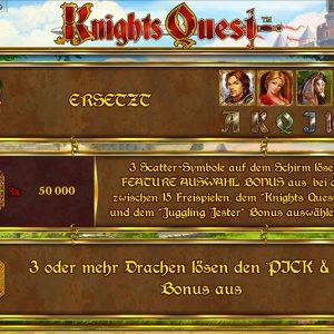 Novoline-knights-quest-bonus