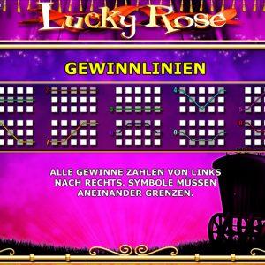 Novoline-lucky-rose-gewinnlinien