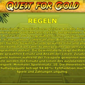 Novoline-quest-for-gold-regeln