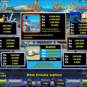 Novoline-sea-sirens-gewinne