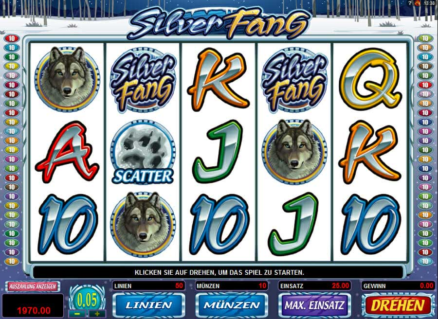Quickfire Silver Fang Online Slot