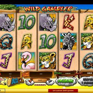 Wild Gambler Vorschau