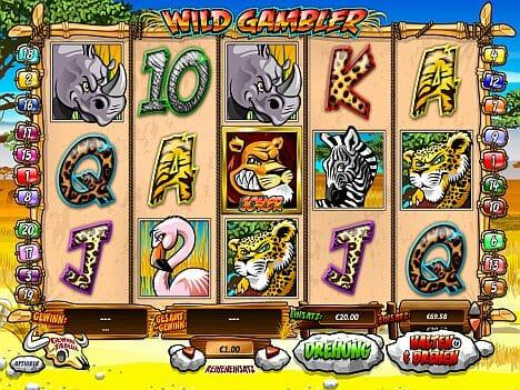 Wild Gambler Spielautomat