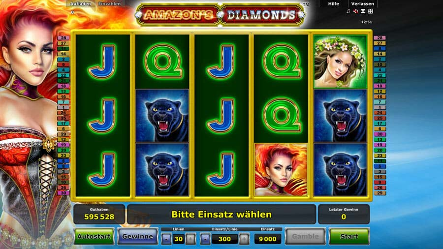 amazons diamonds spielen