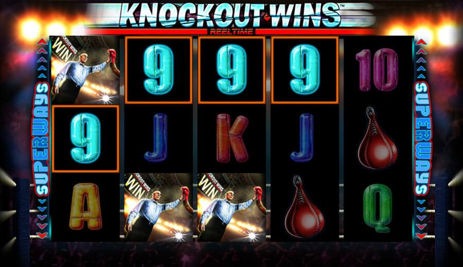 Knockout Wins Gewinn