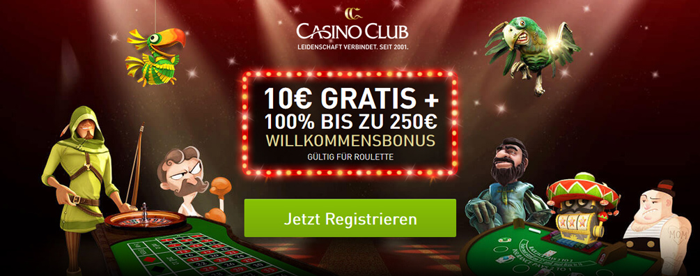 Casino Club Bonus Banner