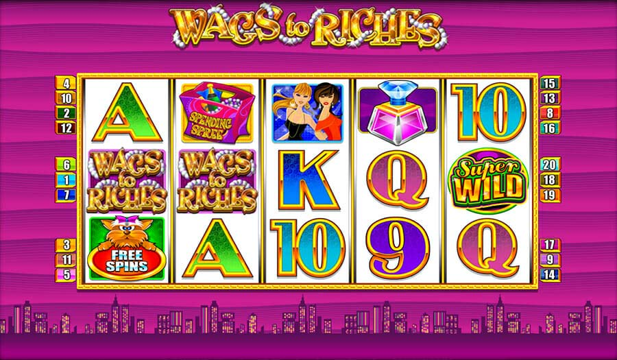 Merkur Wags To Riches Online Slot