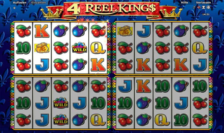 Novoline 4 Reel Kings Online Slot