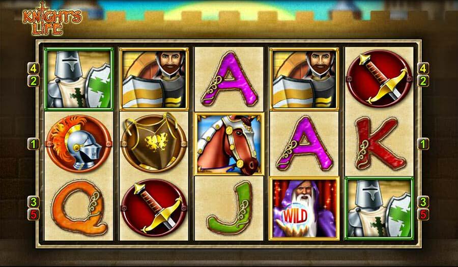 Merkur Knights Life Spielautomat