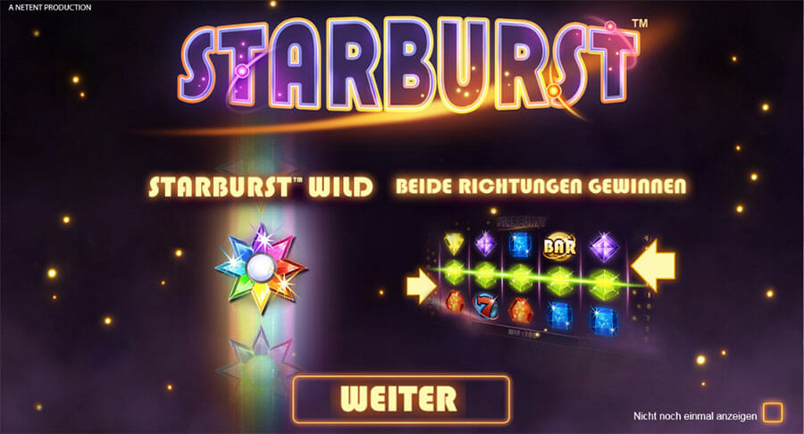 Starburst Vorschau Bonus