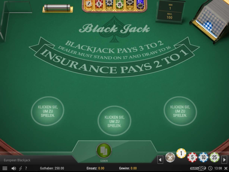 Black Jack Tisch