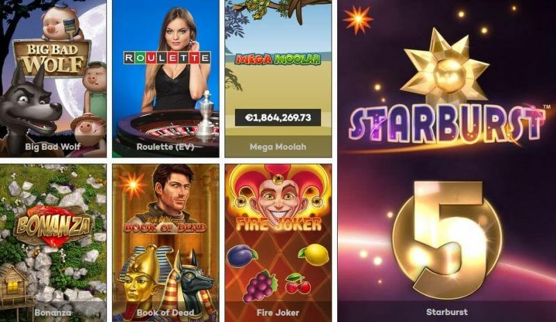 Highroller-casino-Spiele
