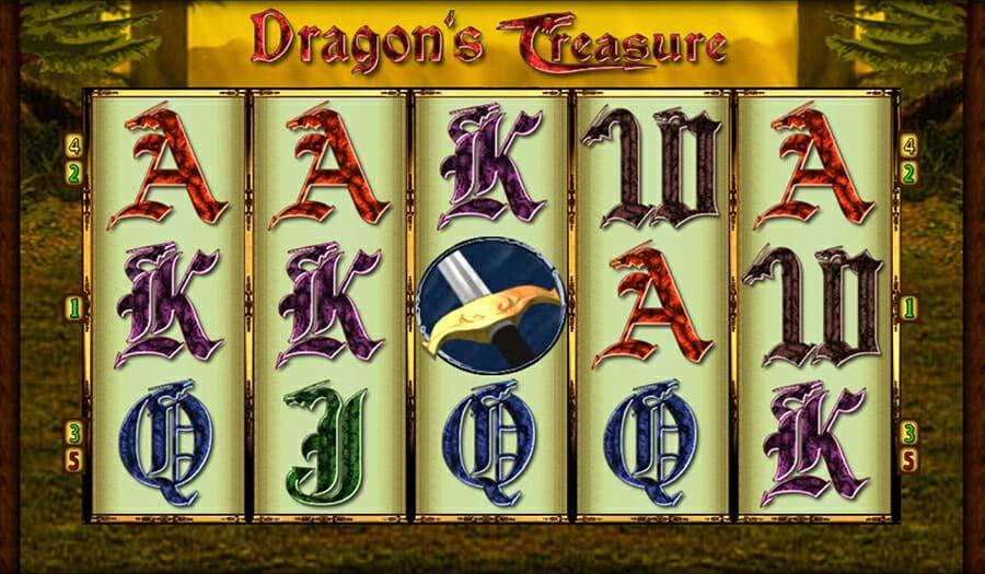Merkur Dragons Treasure Online Slot