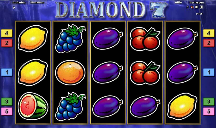 Novoline Diamond 7 Spielautomat