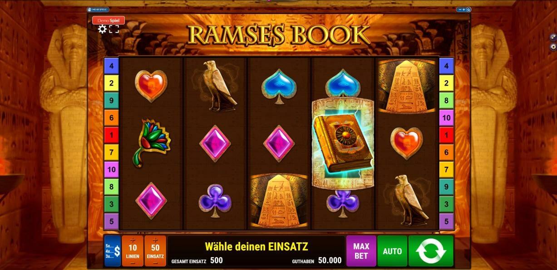 Die Walzen bei Ramses Book
