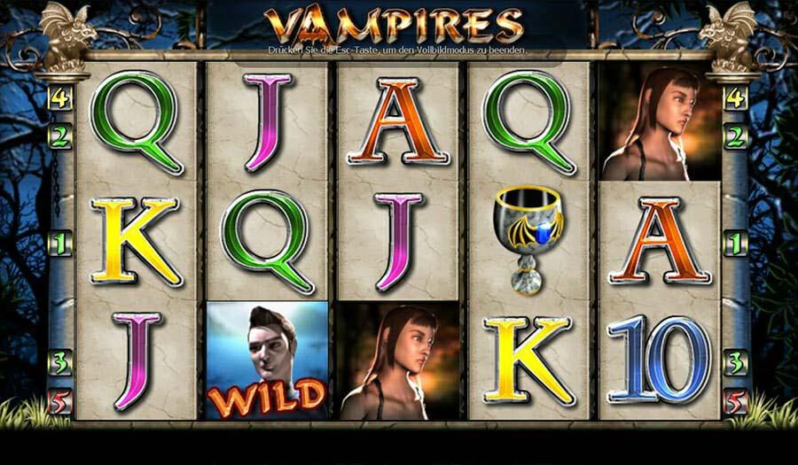 Merkur Vampires Spielautomat