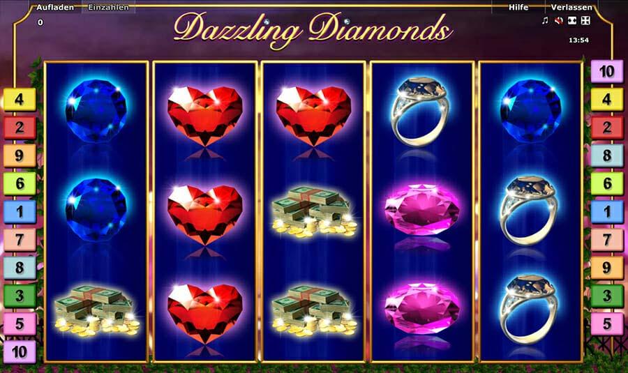 Novoline Dazzling Diamonds Spielautomat