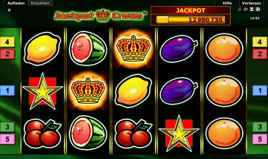Novoline Jackpot Crown Spielautomat