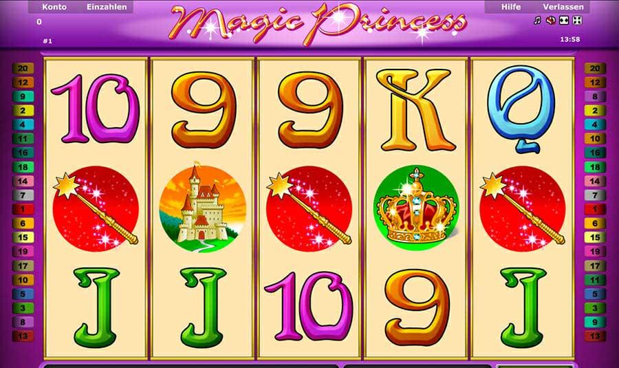 Novoline Magic Princess Spielautomat