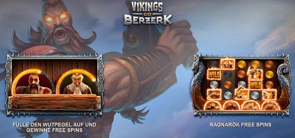 Vikings go Berzerk Bonus