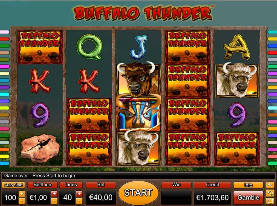 Novoline Buffalo Thunder Online Slot