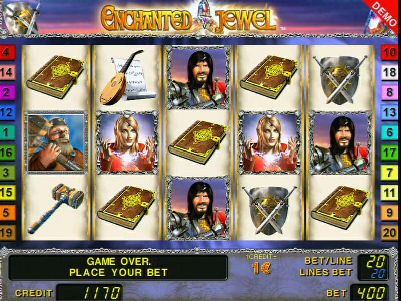 Novoline Enchanted Jewel Online Slot