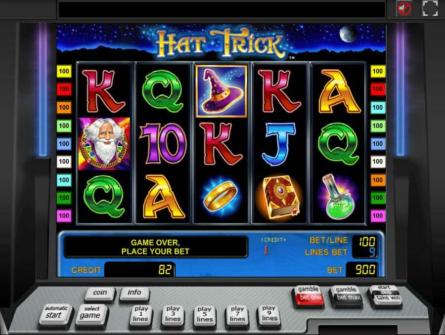 Novoline Hat Trick Spielautomat