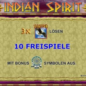 Novoline Indian Spirit Freispiele