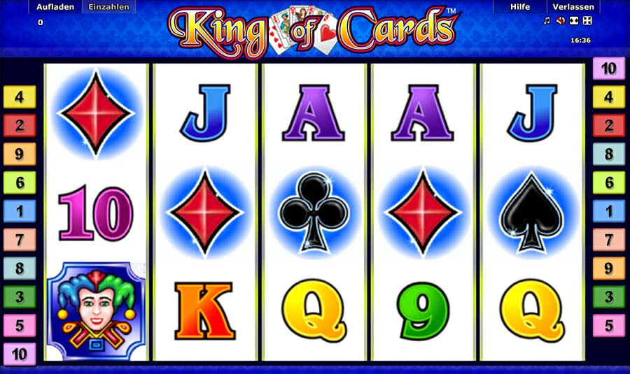 Novoline King Of Cards Spielautomat