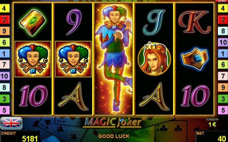 Novoline Magic Joker Feature