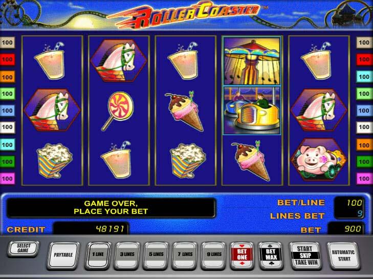 Novoline Roller Coaster Spielautomat