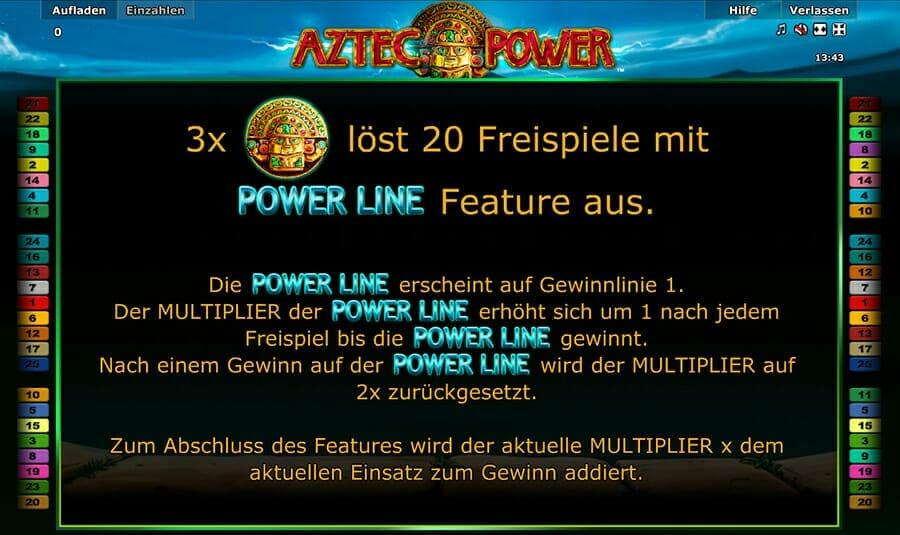 Novoline Aztec Power Bonus