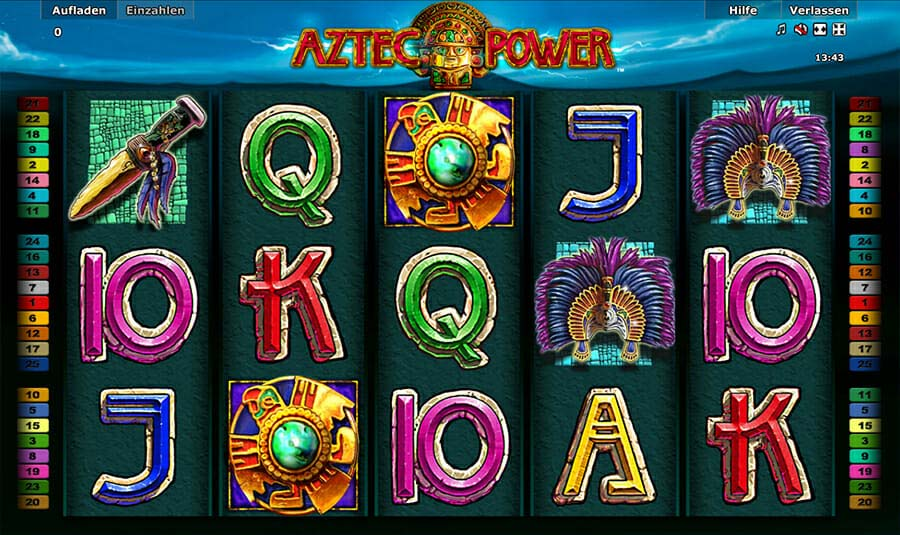 Novoline Aztec Power Spielautomat