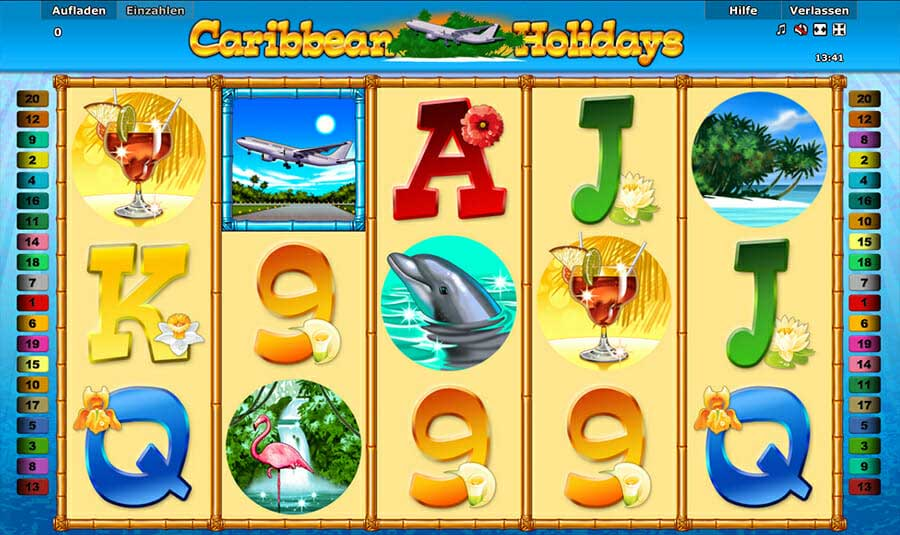 Novoline Cairbbean Holidays Online Slot