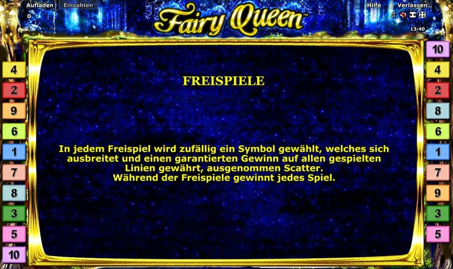 Novoline Fairy Queen Freispiele
