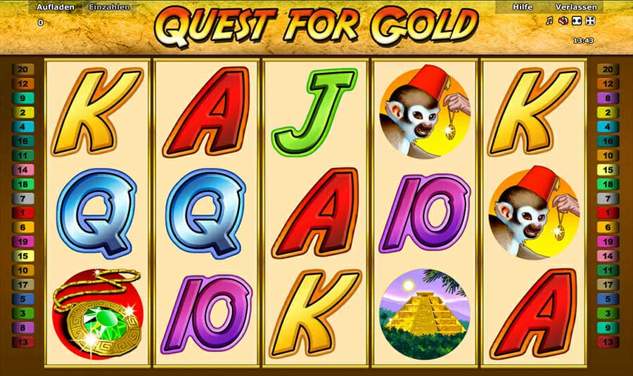 Novoline Quest For Gold Online Slot